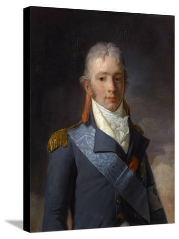 Charles Ferdinand D'Artois, Duke of Berry (1778-182)-Henri-Pierre Danloux-Stretched Canvas Print