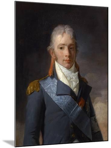 Charles Ferdinand D'Artois, Duke of Berry (1778-182)-Henri-Pierre Danloux-Mounted Giclee Print