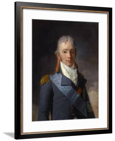 Charles Ferdinand D'Artois, Duke of Berry (1778-182)-Henri-Pierre Danloux-Framed Art Print