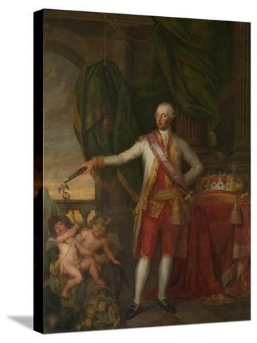 Portrait of Emperor Joseph II (1741-179), Second Half of the 18th C-Gertrude Cornélie Marie de Pélichy-Stretched Canvas Print