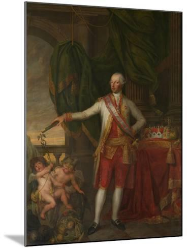 Portrait of Emperor Joseph II (1741-179), Second Half of the 18th C-Gertrude Cornélie Marie de Pélichy-Mounted Giclee Print