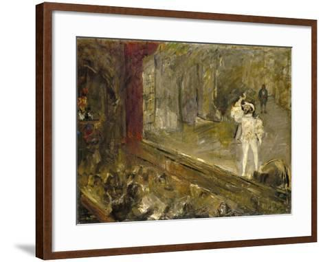 Francisco D'Andrade as Don Giovanni in Mozart's Opera-Max Slevogt-Framed Art Print
