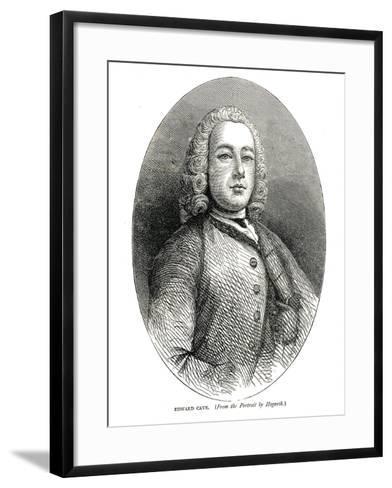 Edward Cave, C.1700S-William Hogarth-Framed Art Print