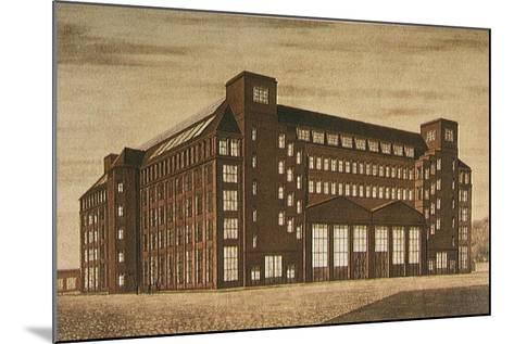Aeg High Tension Factory, Berlin-Peter Behrens-Mounted Giclee Print