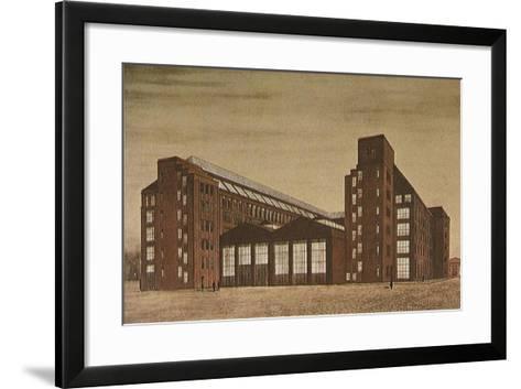 Aeg High Tension Factory, Berlin-Peter Behrens-Framed Art Print