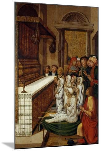 Six Resurrections before the Relics of Saint Stephen-Pere Gascó-Mounted Giclee Print