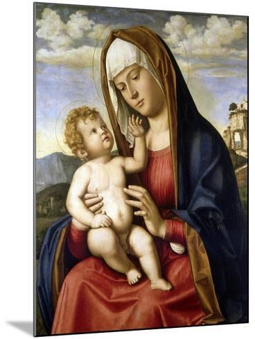 Virgin and Child-Giovanni Battista Cima Da Conegliano-Mounted Giclee Print