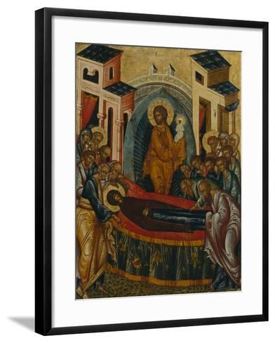 The Dormition of the Virgin--Framed Art Print