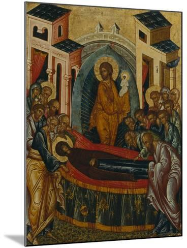 The Dormition of the Virgin--Mounted Giclee Print