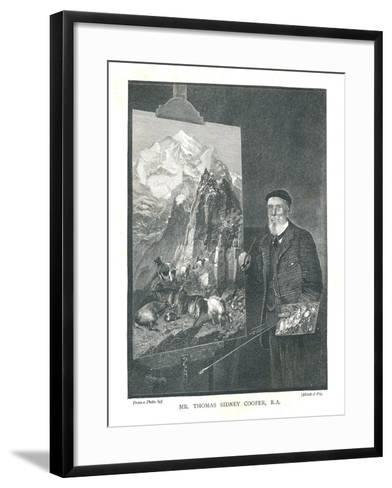 Mr Thomas Sidney Cooper R.A, 1894--Framed Art Print