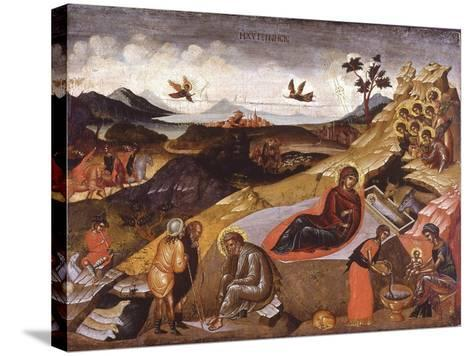 The Nativity of Christ--Stretched Canvas Print