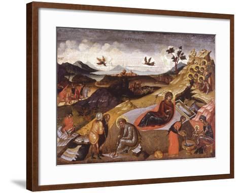 The Nativity of Christ--Framed Art Print
