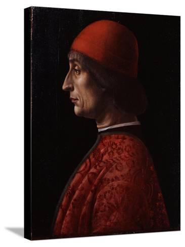 Portrait of Giovanni Francesco Brivio--Stretched Canvas Print