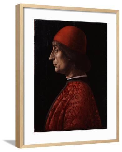 Portrait of Giovanni Francesco Brivio--Framed Art Print