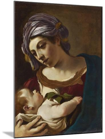 Madonna and Child-Guercino-Mounted Giclee Print