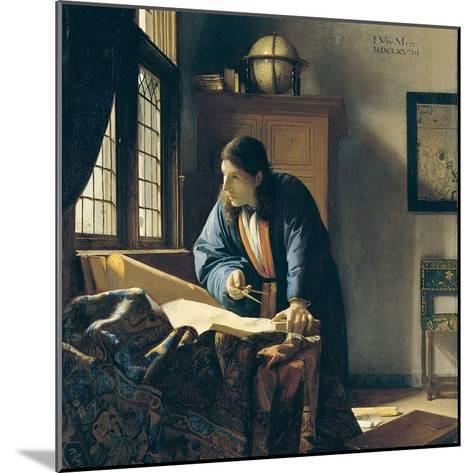 The Geographer-Johannes Vermeer-Mounted Giclee Print