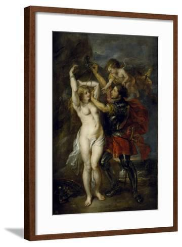Andromeda Freed by Perseus, 1641-1642-Peter Paul Rubens-Framed Art Print