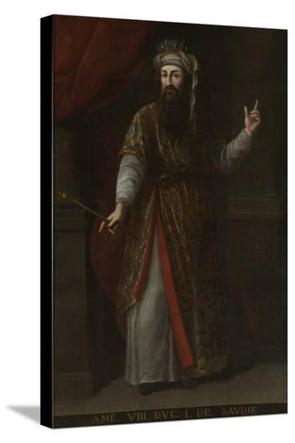 Count Amadeus VIII of Savoy (1383-145)--Stretched Canvas Print