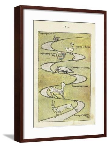 Illustration to the Children's Book Ai Du-Du-Sergei Vasilyevich Malyutin-Framed Art Print