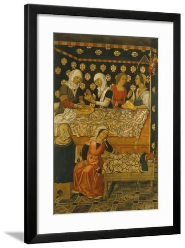 The Birth of Saint Stephen--Framed Art Print
