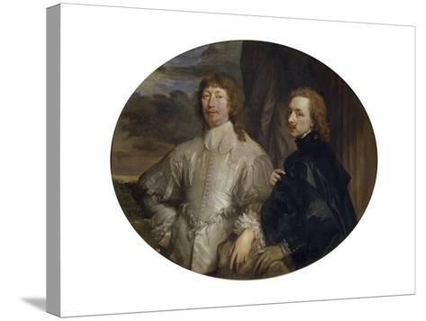 Sir Endymion Porter and Sir Anthony Van Dyck-Sir Anthony Van Dyck-Stretched Canvas Print