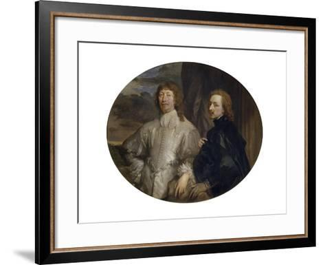 Sir Endymion Porter and Sir Anthony Van Dyck-Sir Anthony Van Dyck-Framed Art Print