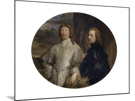 Sir Endymion Porter and Sir Anthony Van Dyck-Sir Anthony Van Dyck-Mounted Giclee Print