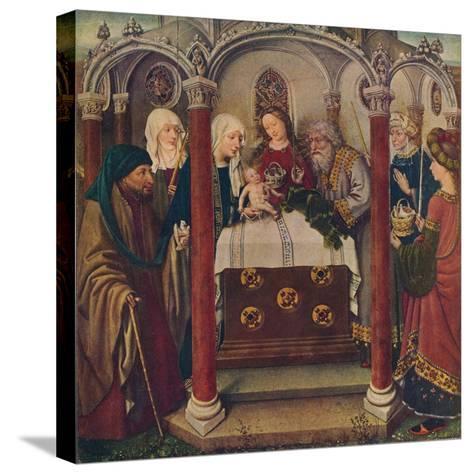 An Altar-Piece by the Maitre De Flemalle, 1907--Stretched Canvas Print