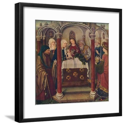 An Altar-Piece by the Maitre De Flemalle, 1907--Framed Art Print