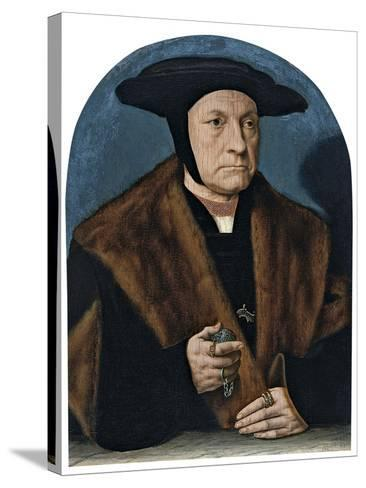 Portrait of a Man from the Weinsberg Family-Bartholomaeus Bruyn-Stretched Canvas Print