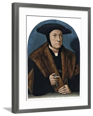 Portrait of a Man from the Weinsberg Family-Bartholomaeus Bruyn-Framed Art Print