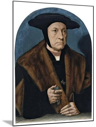 Portrait of a Man from the Weinsberg Family-Bartholomaeus Bruyn-Mounted Giclee Print