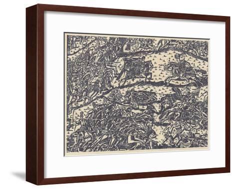 The Battle of Kulikovo--Framed Art Print