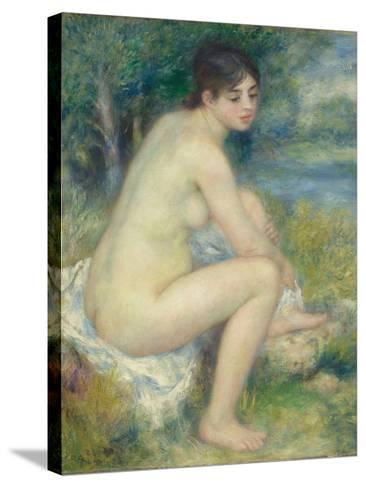 Nude Woman in a Landscape, 1883-Pierre-Auguste Renoir-Stretched Canvas Print
