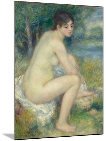 Nude Woman in a Landscape, 1883-Pierre-Auguste Renoir-Mounted Giclee Print