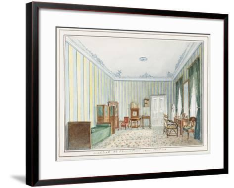 Bedroom in a Country Dacha--Framed Art Print