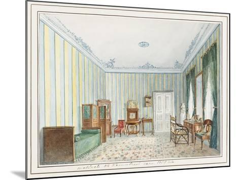 Bedroom in a Country Dacha--Mounted Giclee Print