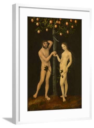 Adam and Eve-Lucas Cranach the Elder-Framed Art Print