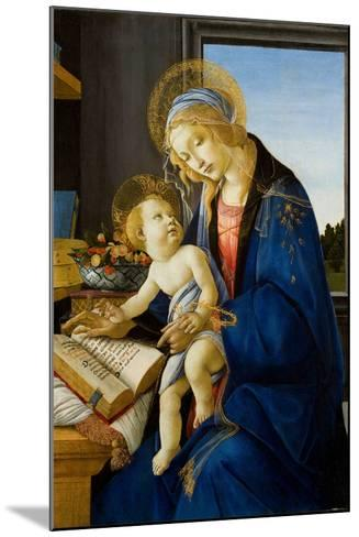 Madonna of the Book (Madonna Del Libr), 1480-Sandro Botticelli-Mounted Giclee Print