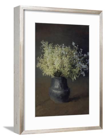 Wild Violets and Forget-Me-Nots, 1889-Isaak Ilyich Levitan-Framed Art Print