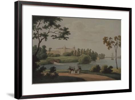 View of the Main Gatchina Palace, 1821-Andrei Yefimovich Martynov-Framed Art Print