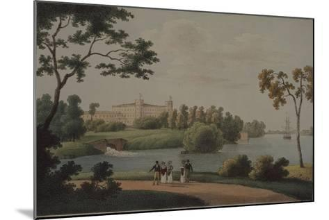 View of the Main Gatchina Palace, 1821-Andrei Yefimovich Martynov-Mounted Giclee Print