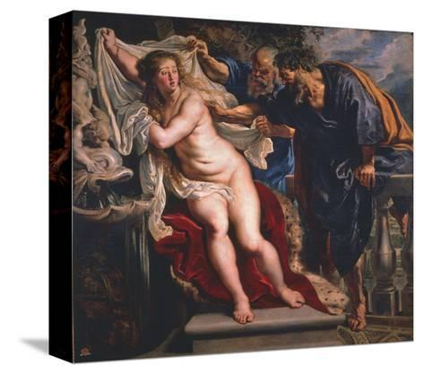 Susanna and the Elders-Peter Paul Rubens-Stretched Canvas Print