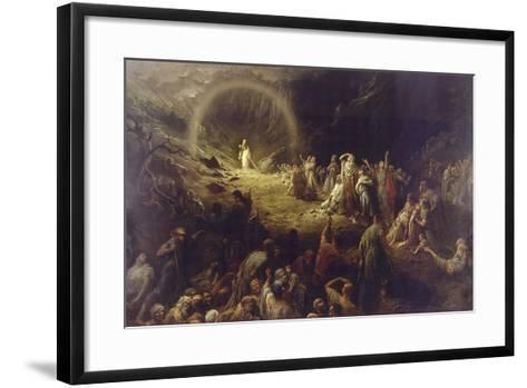 The Vale of Tears-Gustave Dor?-Framed Art Print