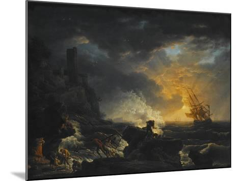 Shipwreck, Second Half of the 18th C-Claude Joseph Vernet-Mounted Giclee Print