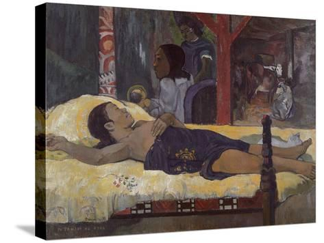 Son of God (Te Tamari No Atu), 1896-Paul Gauguin-Stretched Canvas Print