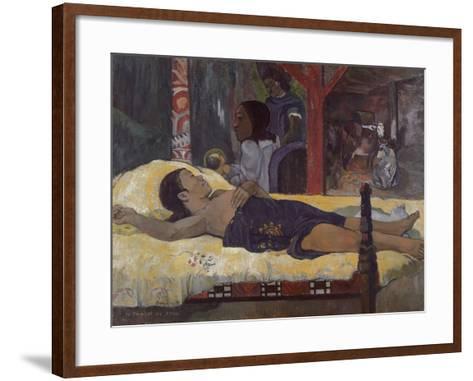 Son of God (Te Tamari No Atu), 1896-Paul Gauguin-Framed Art Print