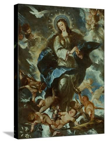 The Immaculate Conception-José Antolínez-Stretched Canvas Print