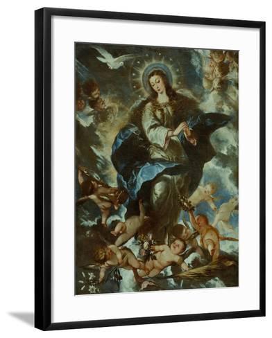 The Immaculate Conception-José Antolínez-Framed Art Print
