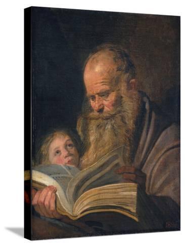 Saint Matthew the Evangelist-Frans I Hals-Stretched Canvas Print